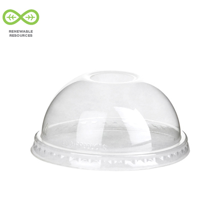 100% Renewable & Compostable Food Container Lid